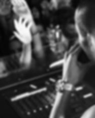 Party DJ B & W