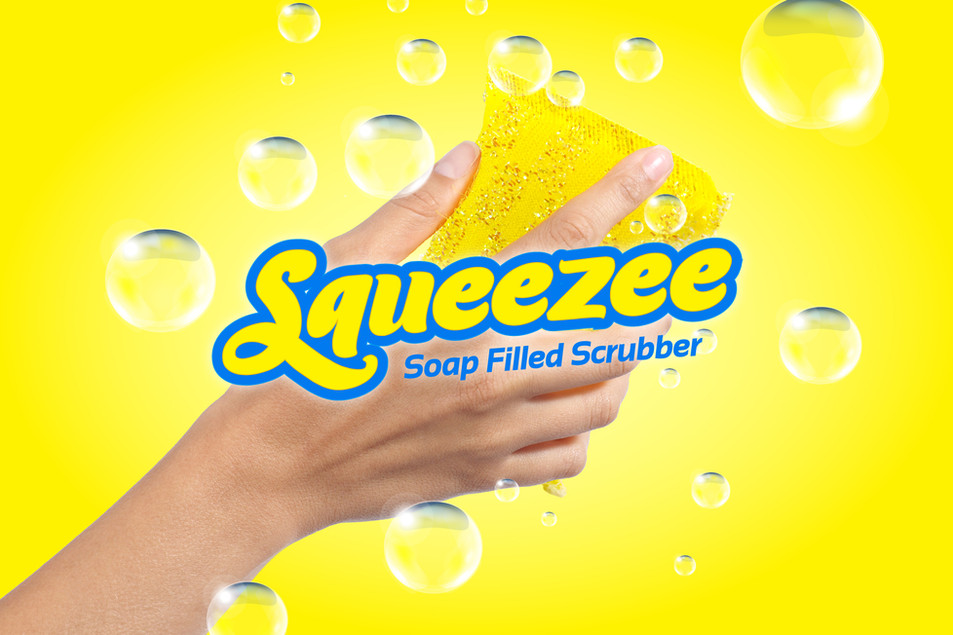 Squeezee Scrubber