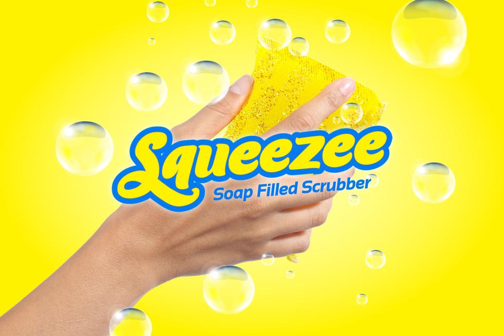 Squeezee Scrubber