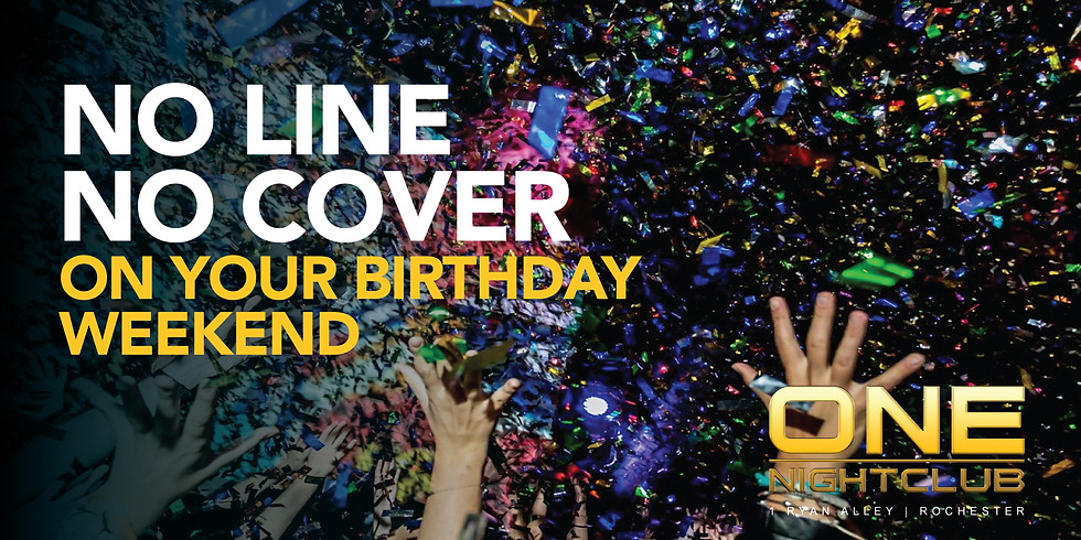 NO LINE NO COVER ON YOUR BIRTHDAY