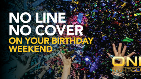 NO LINE NO COVER FOR YOUR BIRTHDAY