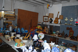 The garage set up