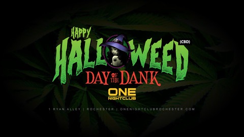 Happy Halloweed! Day of the Dank Party