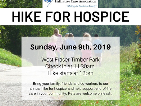 2019 - Hike for Hospice