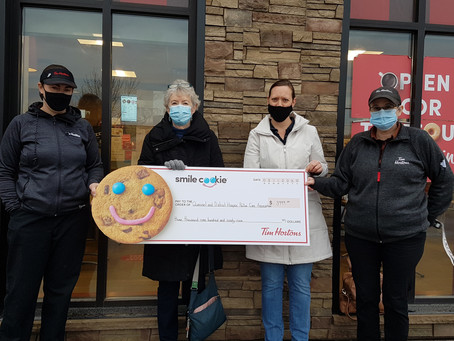 2020 - Tim Hortons Smile Cookie Campaign