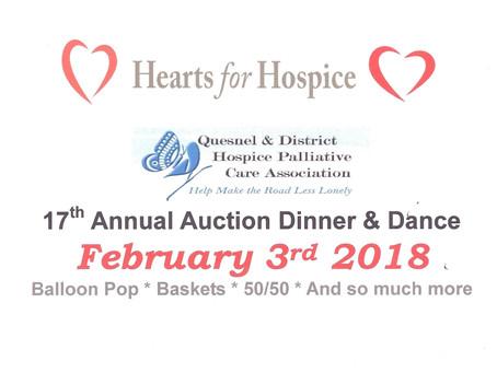 2018 - Hearts for Hospice Gala
