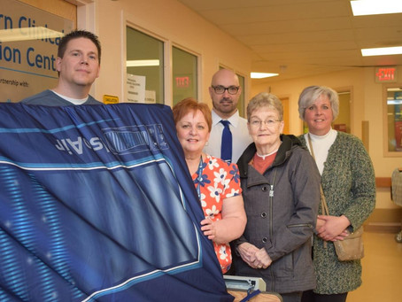 2017 - GRB Hospital Receives New Palliative Mattresses