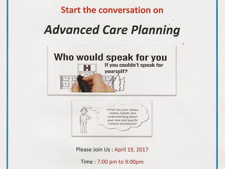 2017 - Advance Care Planning
