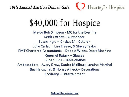 2019 - QDHPCA Hearts for Hospice