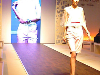 Lars Larson Watches On The Runway At Spring Fair
