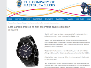 Lars Larsen creates its first automatic divers collection