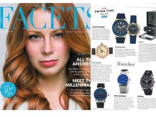 Lars Larsen & Facets Magazine
