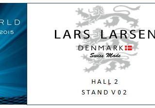 Lars Larsen Exhibiting At BasleWorld 2015