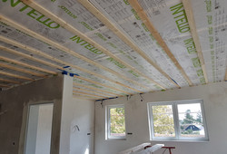 Deckenkonstruktion zum Dach