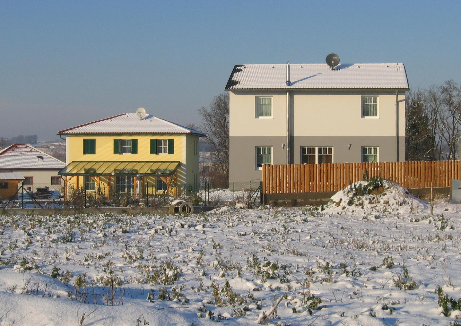 Passivhäuser in Ebendorf