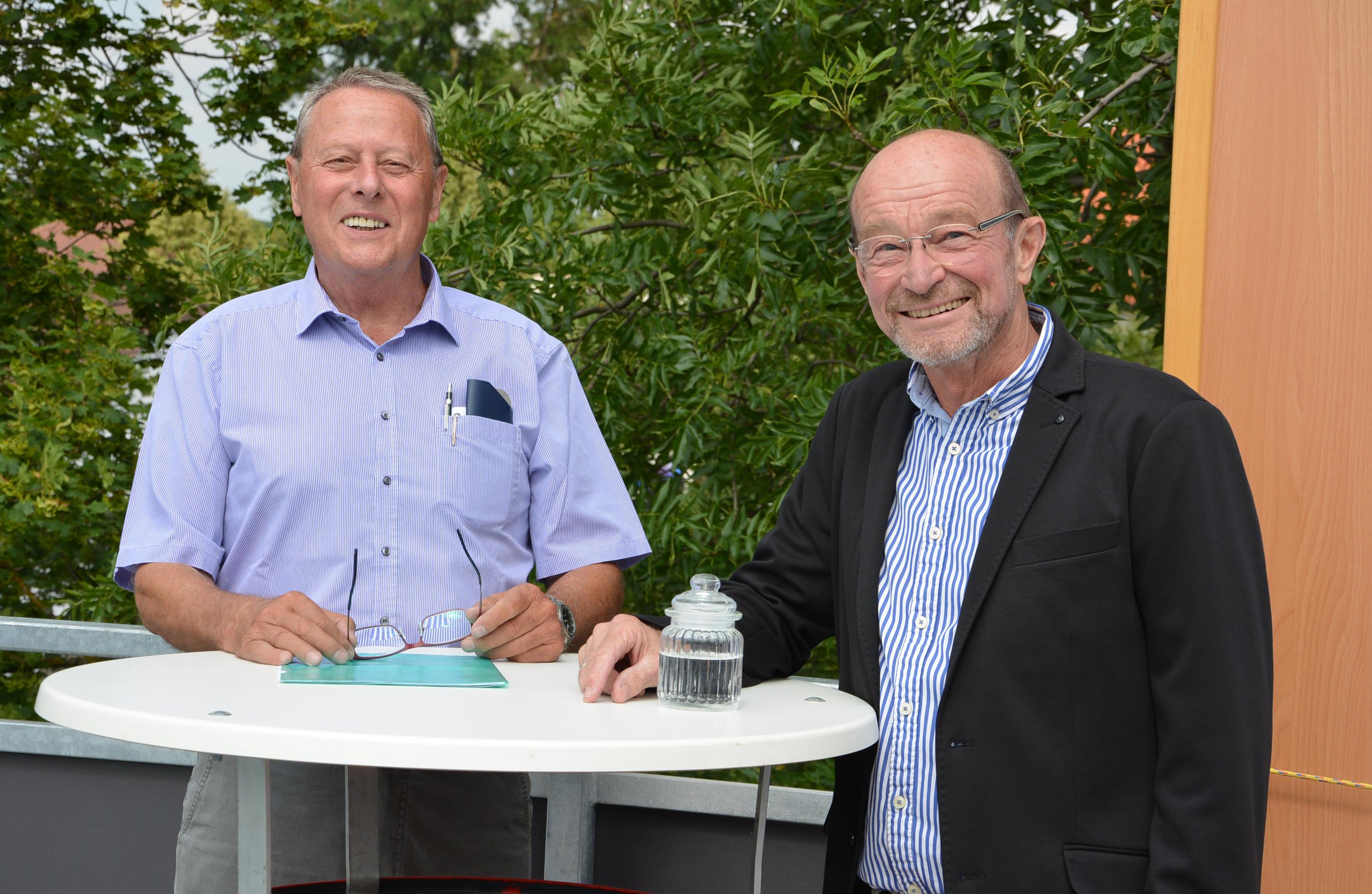 Alfred Hofer und Gerhard Mairweck