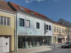 Geschäftsgebäude Optiker
