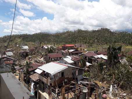 Ambo Brings Suffering to Eastern Samar