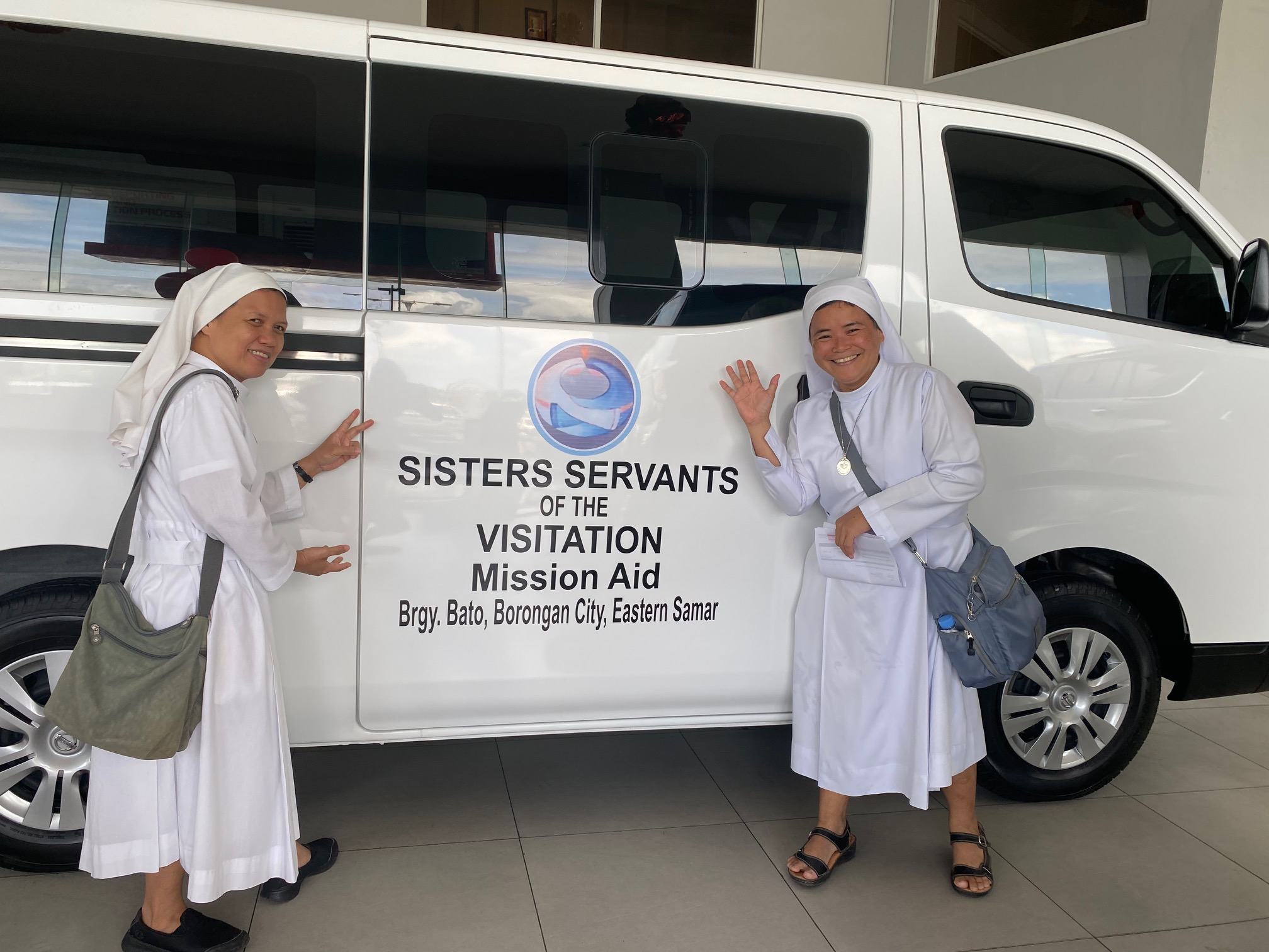 SSV Van Sr. Ruby and Sr. Tonette