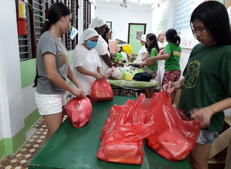 Typhoon Ambo Relief Mission