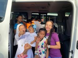 SSV Van Blessing SR Jennylyn and kids in