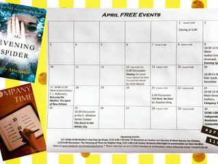 FREE April Events