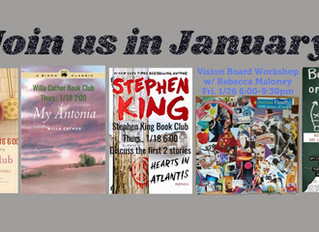 Join us in January!