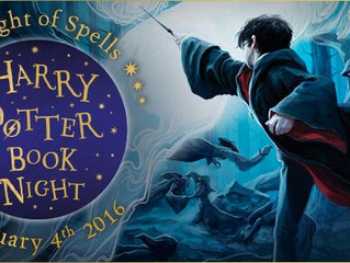 One week 'til Harry Potter Book Night!