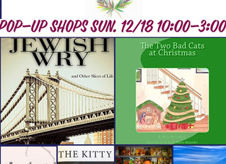 Authors & Artisans Pop-Up Shops 12/17 & 12/18!