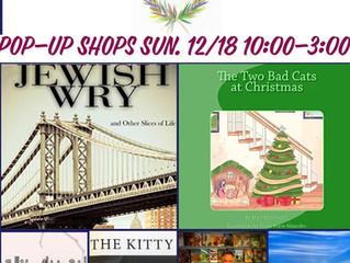 Authors & Artisans Pop-Up Shops 12/17 & 12/18!