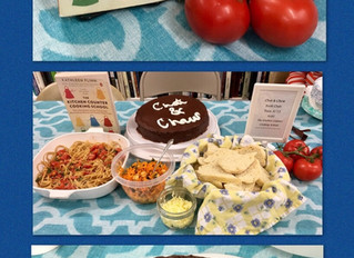 🍽📖Our Chat & Chew Book Club has another delicious discussion tonight. They rated The Kitchen C