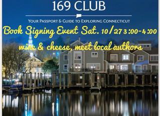 10/27/18 Connecticut 169 Club Authors Event