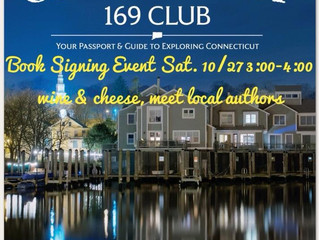 10/27/18 Connecticut 169 Club Authors Event