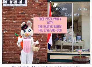 Free Pizza Party with the Easter Bunny!