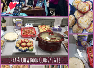 Join our Chat & Chew Book Club!