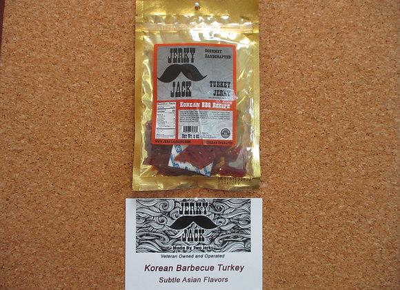 Korean BBQ Turkey Jerky - 3 oz