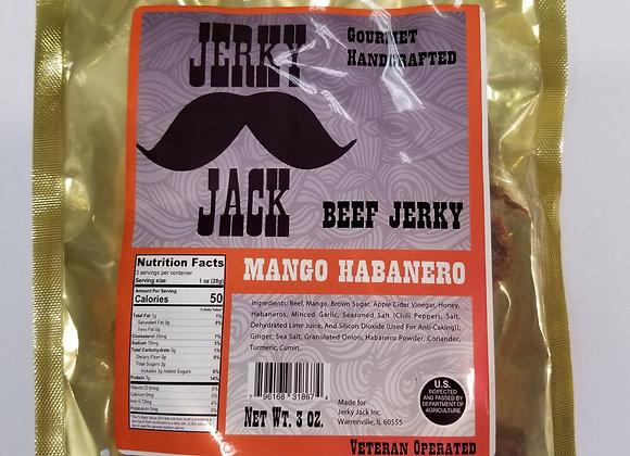 Mango Habanero Beef Jerky - 3 oz