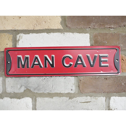 Man Cave Red Sign