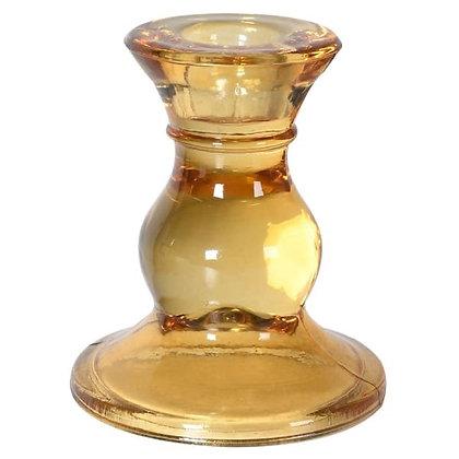 Amber candleholder