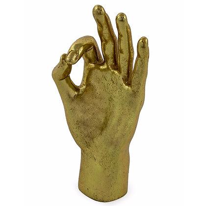 Gold OK Hand Figure