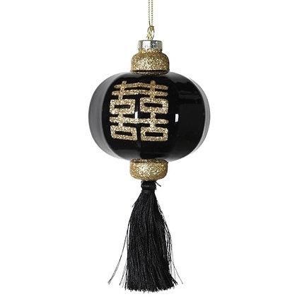 Black oriental bauble