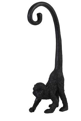 Black Monkey Wall Ornament