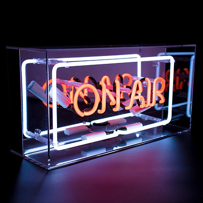 Neon On Air Acrylic Box Light