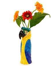 Ceramic MACAW/PARROT Head Vase