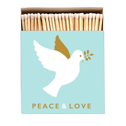 Peace & Love Luxury Matches