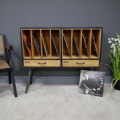 Retro Vinyl Filing Cabinet