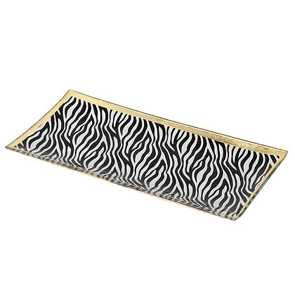 Zebra Trinket Tray