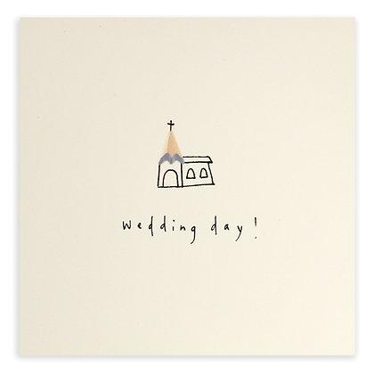 Wedding Day Church Card