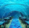 The largest underwater restaurant. The g