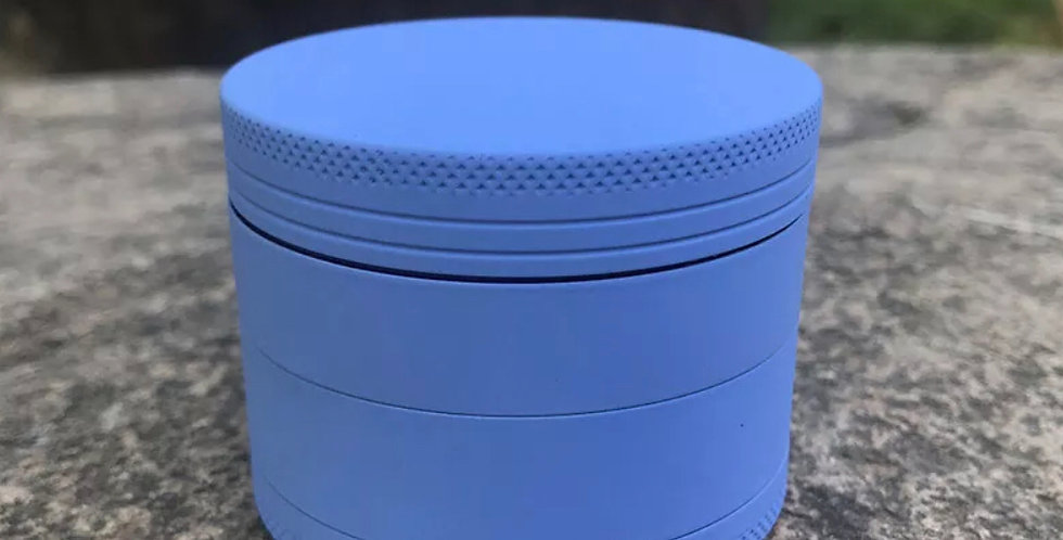 Blue Silicone 63mm Grinder